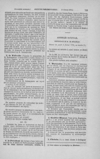 Tome 22 : Du 3 janvier au 5 février 1791 - page 719