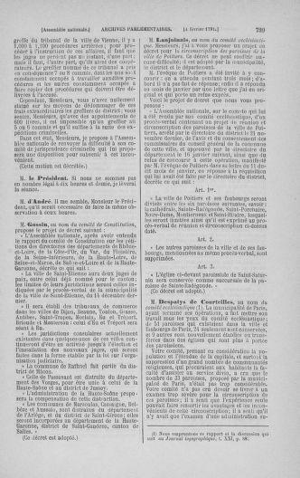Tome 22 : Du 3 janvier au 5 février 1791 - page 739