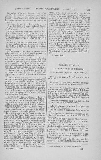 Tome 22 : Du 3 janvier au 5 février 1791 - page 753