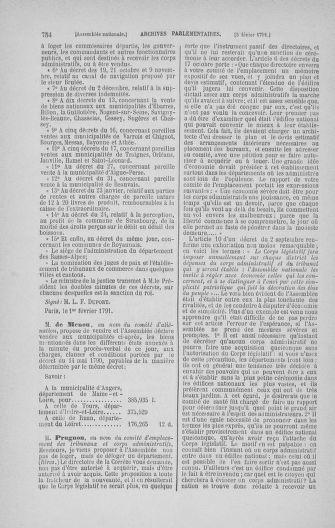 Tome 22 : Du 3 janvier au 5 février 1791 - page 754