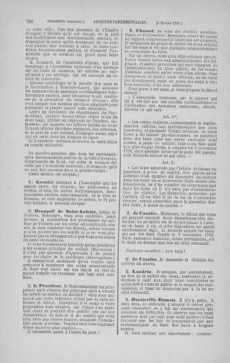 Tome 22 : Du 3 janvier au 5 février 1791 - page 766