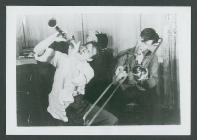 Bill Napier and Bob Mielke, as young musicians