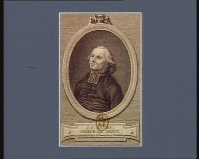 J.F. Maury, prieur de Lions, député des baillages de Peronne, Roie et Montdidier [estampe]