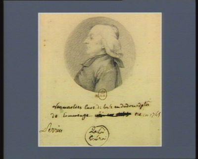 Lasmartres curé de Lisle en Dodon d.p.té de Comminge né en 1745 : [dessin]