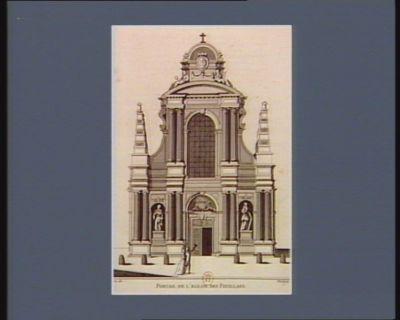 Portail de l'Eglise des Feuillans [estampe]