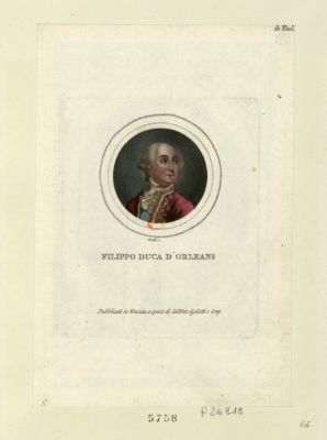 Filippa duca d'Orléans [estampe]