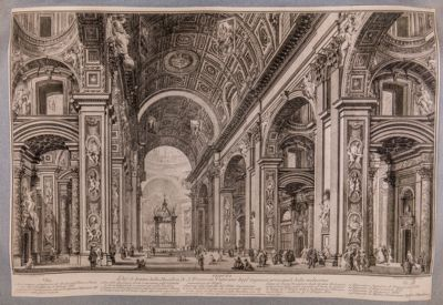 S. Pietro in Vaticano. Interno