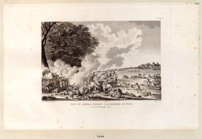 Mort du général Joubert, a la bataille de Novi le 28 Thermidor An 7 : [estampe]