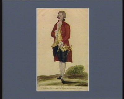 Charles de Lameth, député de la province d'Artois [estampe]