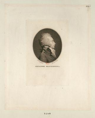 Alexandre Beauharnois député de Blois à l'Assemblée nationale en 1789, élû président les 18 juin et 30 juil. 1791 : [estampe]