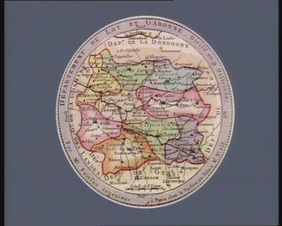 Departement du Lot et Garonne divisé en 9 districts : [estampe]