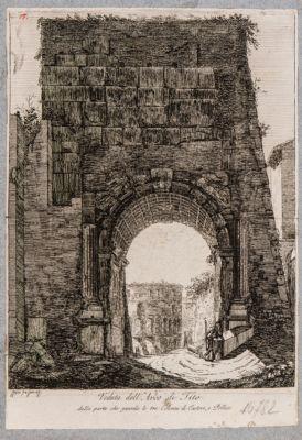 Arco di Tito, il lato opposto
