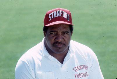 Football--Coach Dennis Green