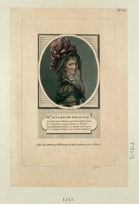 M. de Julles de Polignac sous les traits séduisans que formèrent les Graces... : [estampe]