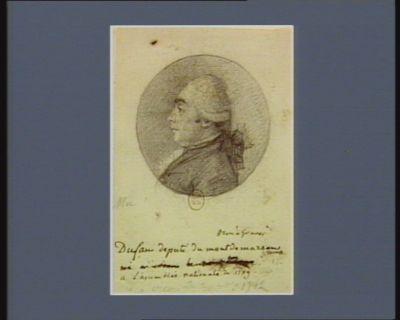Dufau député de Mont-de-Marsan à l'Assemblée nationale de 1789 : [dessin]