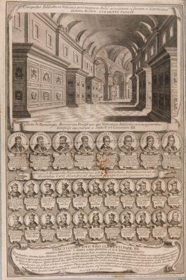 Palazzo Vaticano. Biblioteca. Ampliamento dovuto a Clemente XII