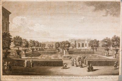 Palazzo del Quirinale. Giardino