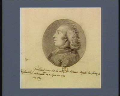 Goullard curé de la ville de Roanne député du Forez à l'Assemblée nationale en 1789 né à Lyon en 1744 : [dessin]