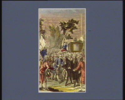 Arrivé des députés à Paris, le 15 juillet 1789 [estampe]