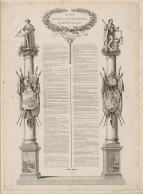 <em>Acte</em> <em>constitutionnel</em> du peuple français [estampe]