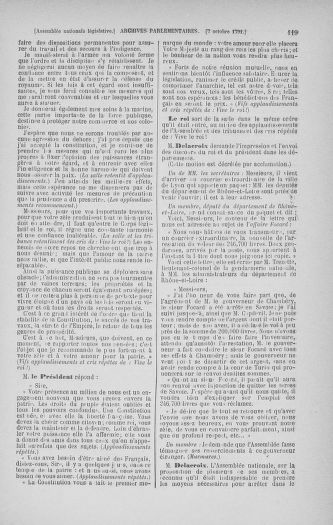 Tome 34 : Du 1er octobre au 10 novembre 1791 - page 119