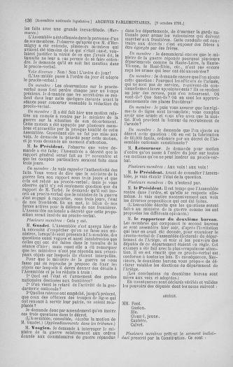 Tome 34 : Du 1er octobre au 10 novembre 1791 - page 136