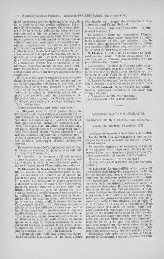 Tome 34 : Du 1er octobre au 10 novembre 1791 - page 182