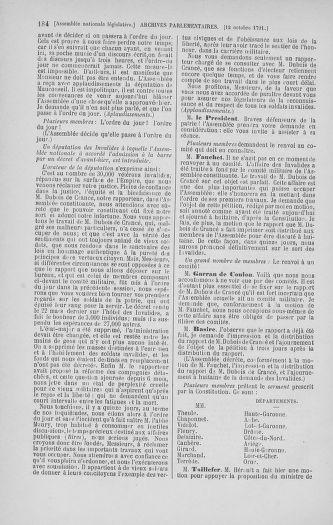 Tome 34 : Du 1er octobre au 10 novembre 1791 - page 184