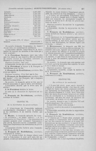 Tome 34 : Du 1er octobre au 10 novembre 1791 - page 197