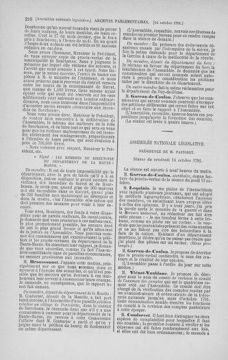 Tome 34 : Du 1er octobre au 10 novembre 1791 - page 216