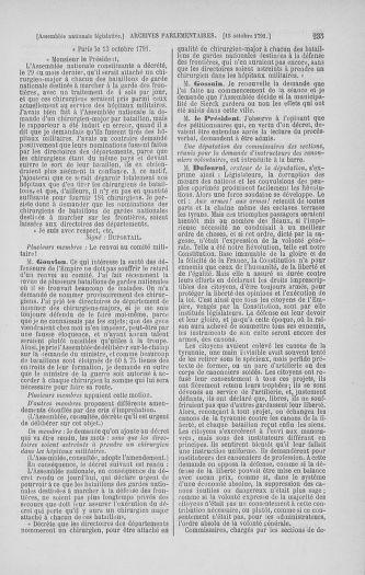 Tome 34 : Du 1er octobre au 10 novembre 1791 - page 235