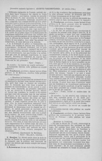 Tome 34 : Du 1er octobre au 10 novembre 1791 - page 255