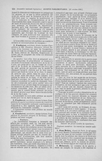 Tome 34 : Du 1er octobre au 10 novembre 1791 - page 256