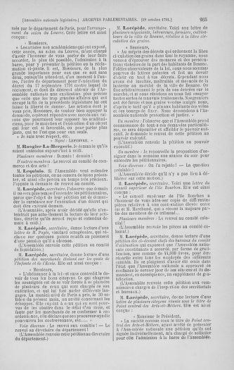 Tome 34 : Du 1er octobre au 10 novembre 1791 - page 265