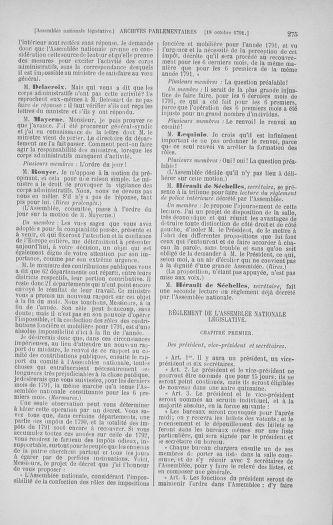 Tome 34 : Du 1er octobre au 10 novembre 1791 - page 275