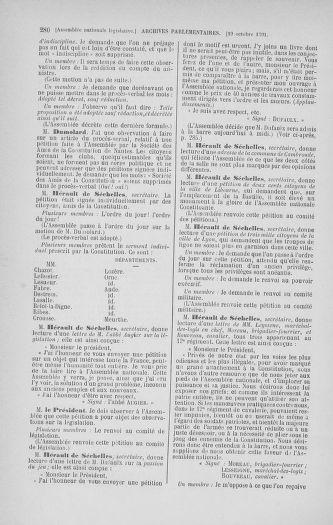 Tome 34 : Du 1er octobre au 10 novembre 1791 - page 280