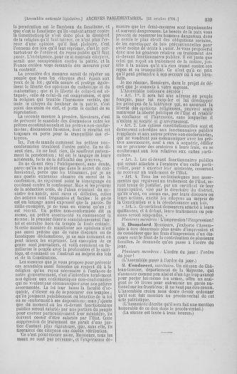 Tome 34 : Du 1er octobre au 10 novembre 1791 - page 339