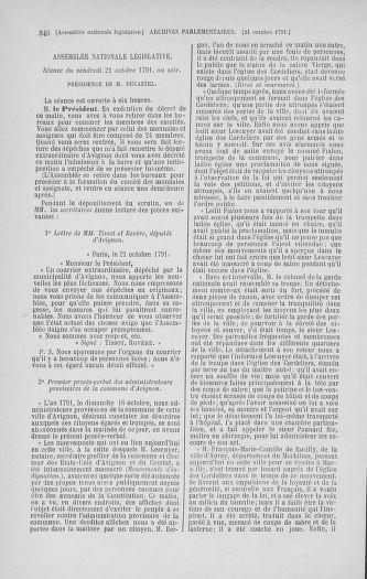 Tome 34 : Du 1er octobre au 10 novembre 1791 - page 340