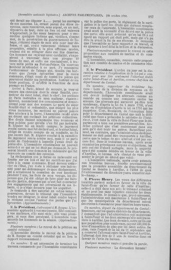 Tome 34 : Du 1er octobre au 10 novembre 1791 - page 357