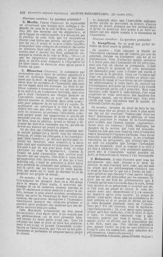 Tome 34 : Du 1er octobre au 10 novembre 1791 - page 362