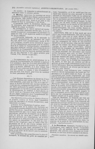 Tome 34 : Du 1er octobre au 10 novembre 1791 - page 364