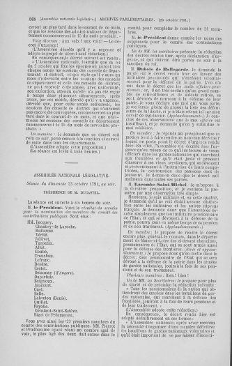 Tome 34 : Du 1er octobre au 10 novembre 1791 - page 368