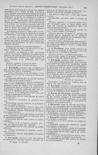 Tome 34 : Du 1er octobre au 10 novembre 1791 - page 369