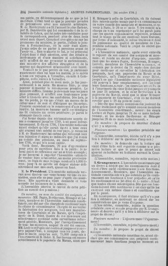 Tome 34 : Du 1er octobre au 10 novembre 1791 - page 384