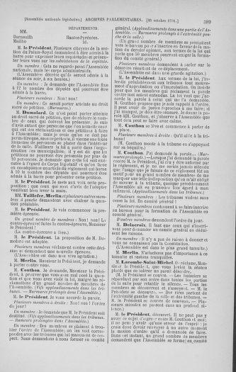 Tome 34 : Du 1er octobre au 10 novembre 1791 - page 389