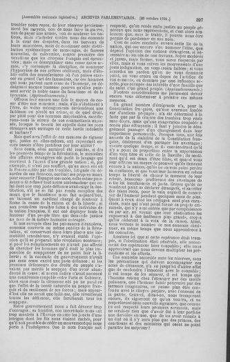 Tome 34 : Du 1er octobre au 10 novembre 1791 - page 397
