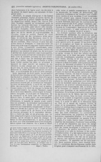 Tome 34 : Du 1er octobre au 10 novembre 1791 - page 434