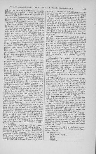 Tome 34 : Du 1er octobre au 10 novembre 1791 - page 435