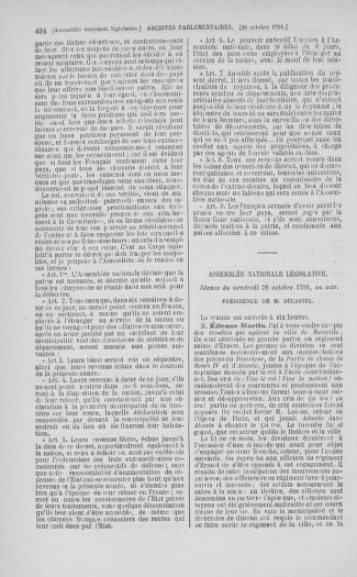 Tome 34 : Du 1er octobre au 10 novembre 1791 - page 494