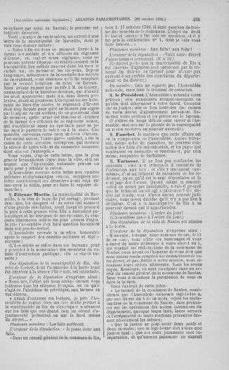 Tome 34 : Du 1er octobre au 10 novembre 1791 - page 495